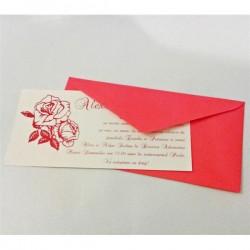 Invitatie nunta Red Rose